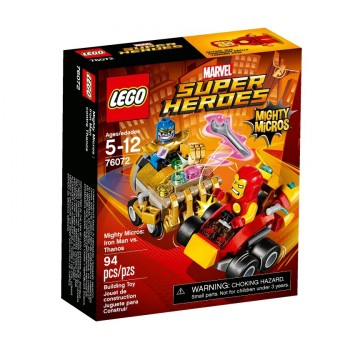 LEGO Super Heroes Mighty Micros Железный человек против Таноса 76072