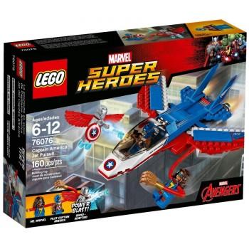 Конструктор LEGO Super Heroes Воздушная погоня Капитана Америка 76076