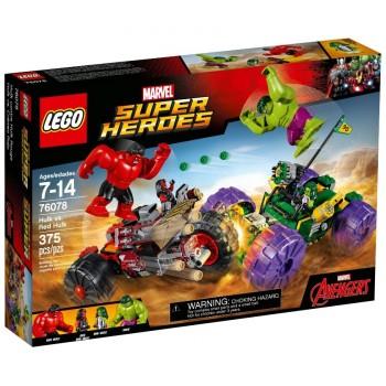 Конструктор LEGO Super Heroes Халк против Красного Халка 76078