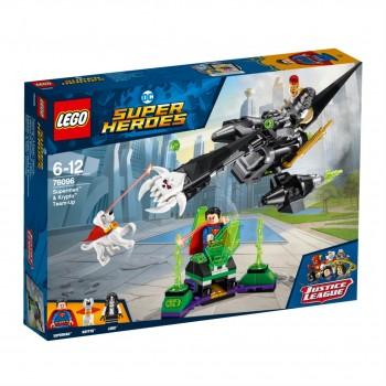 LEGO Super Heroes Команда Супермена и Крипто 76096