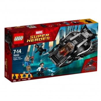 Конструктор LEGO Super Heroes Атака королевского истребителя 76100