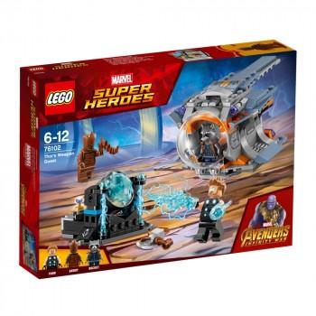 LEGO Super Heroes В поисках оружия Тора 76102
