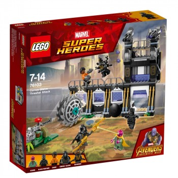 Конструктор LEGO Super Heroes Атака разрушителя Корвуса Глэйва 76103