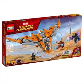 LEGO Super Heroes Танос: решающая битва 76107