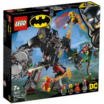 Конструктор LEGO Super Heroes Робот Бэтмена против робота Ядовитого Плюща 76117