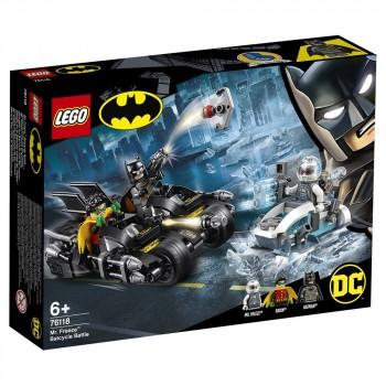 LEGO Super Heroes Гонка на мотоциклах с Мистером Фризом 76118