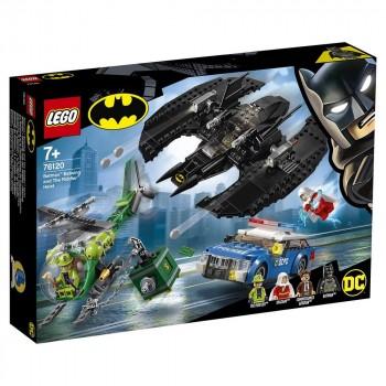 Конструктор LEGO Super Heroes Бэткрыло Бэтмена и ограбление Загадочника 76120