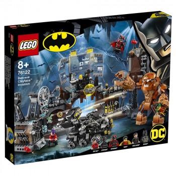 Конструктор LEGO Super Heroes Вторжение Глиноликого в бэт-пещеру 76122