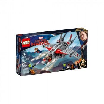 Конструктор LEGO Super Heroes Капитан Марвел и  атака скруллов 76127
