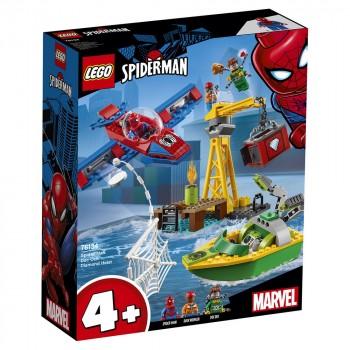 LEGO Super Heroes Человек-Паук: похищение бриллиантов Доктором Осьминогом 76134