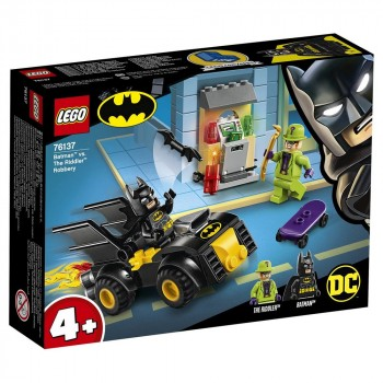 Конструктор LEGO Super Heroes Бэтмен и ограбление Загадочника 76137