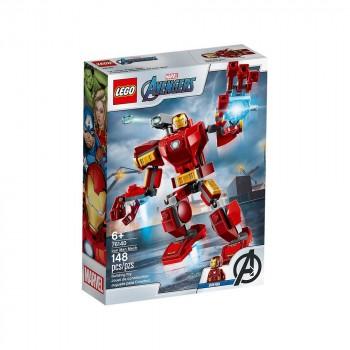 Конструктор LEGO Super Heroes Железный Человек: трасформер 76140