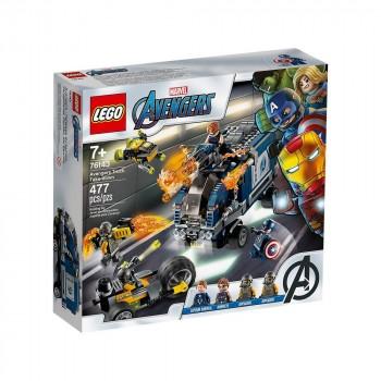 LEGO Super Heroes Мстители: Нападение на грузовик 76143