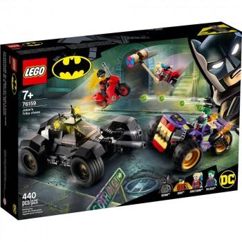 Конструктор LEGO Super Heroes Побег Джокера на трицикле 76159