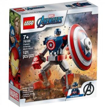 Конструктор LEGO Super Heroes Бронированный робот Капитана Америки 76168