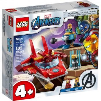 Конструктор LEGO Super Heroes Железный Человек против Таноса 76170