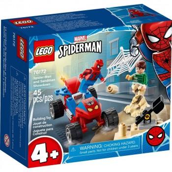 Конструктор LEGO Super Heroes Схватка Человека-Паука и Песочного Человека 76172
