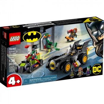 Конструктор LEGO Super Heroes Бэтмен против Джокера: погоня на Бэтмобиле 76180