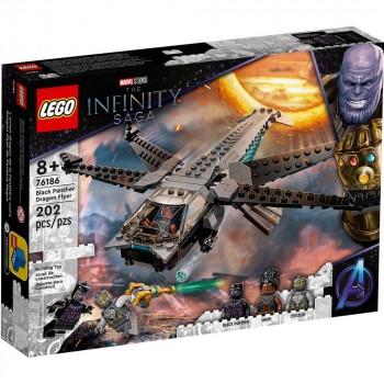Конструктор LEGO Super Heroes Корабль Чёрной Пантеры «Дракон» 76186