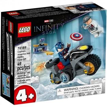 Конструктор LEGO Super Heroes Битва Капитана Америка с Гидрой 76189