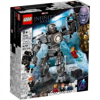 Конструктор LEGO Super Heroes Железный человек: схватка с Железным Торговцем 76190