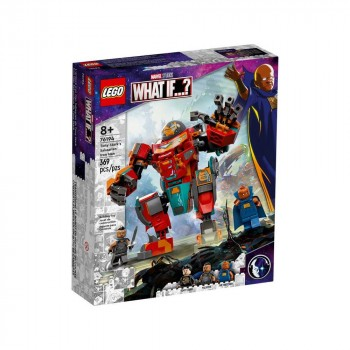 Конструктор LEGO Super Heroes Железный Человек Тони Старка на Сакааре 76194