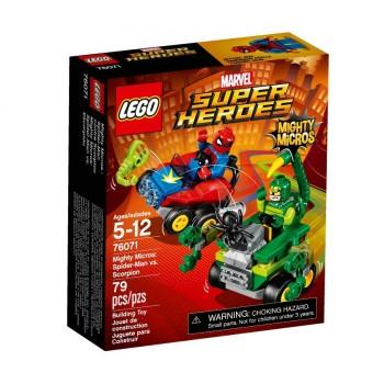 Конструктор LEGO Super Heroes Mighty Micros Человек-паук против Скорпиона 76071