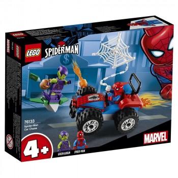 LEGO Super Heroes Автомобильная погоня Человека-Паука 76133