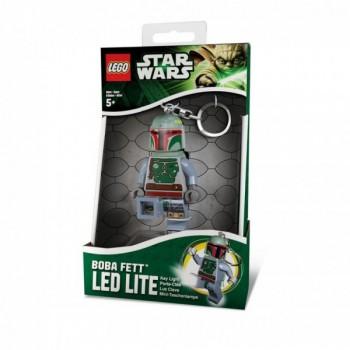 LEGO Star Wars Брелок-фонарик Боба Фетт (LGL-KE19-BELL)