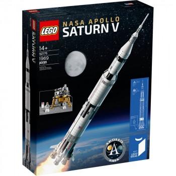 Конструктор LEGO Ideas Ракетно-космическая система НАСА «Сатурн-5-Аполлон» 92176