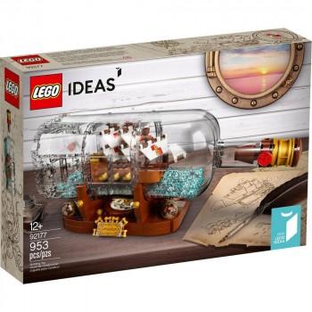 Конструктор LEGO Ideas Корабль в бутылке 92177