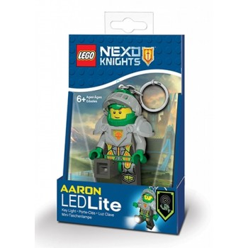 LEGO NEXO KNIGHTS Брелок-фонарик Аарон (LGL-KE98)