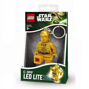 LEGO Star Wars фонарик-брелок Робот C3PO (LGL-KE18-BELL)