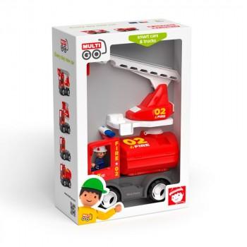 Efko MultiGO Пожарная машина с лестницей и баком 2в1 27324