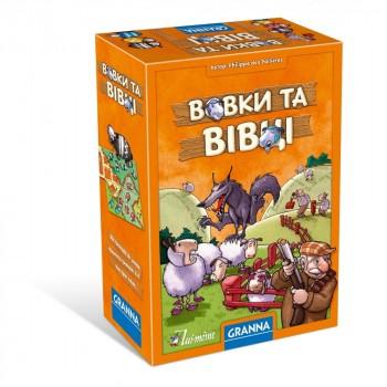 Настольная игра Granna Волки и овцы 83651