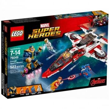 Конструктор LEGO Super Heroes Реактивный самолёт Мстителей: космическая миссия 76049