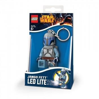 LEGO Star Wars Брелок-фонарик Джанго Фетт (LGL-KE67-6-BELL)