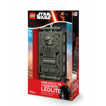 LEGO Star Wars Брелок-фонарик Хан Соло в карбоните (LGL-KE72)