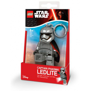LEGO Star Wars Брелок-фонарик Капитан Фазма (LGL-KE96)