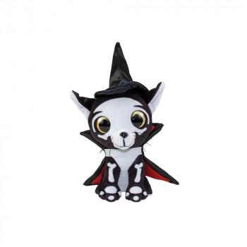 Мягкая игрушка Lumo Stars Кот Halloween Spooky классическая (15 см) 54984