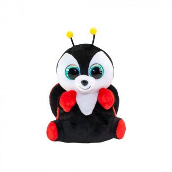 Мягкая игрушка Lumo Stars Божья коровка Leppis классическая (15 см) 55360