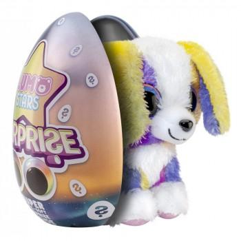 Мягкая игрушка Lumo Stars сюрприз в яйце Собачка Sunset 55772