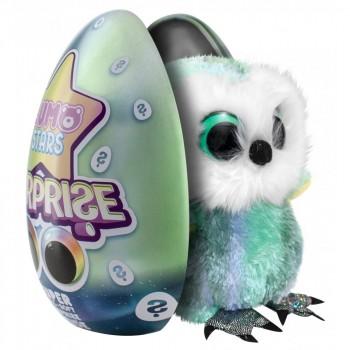 Мягкая игрушка Lumo Stars сюрприз в яйце  Сова Meri 55773