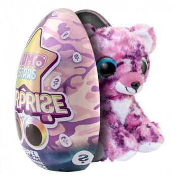 Мягкая игрушка Lumo Stars сюрприз в яйце Мишка Rabarber 55774