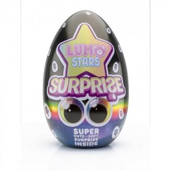 Мягкая игрушка Lumo Stars сюрприз в яйце Бобер Clever 56160