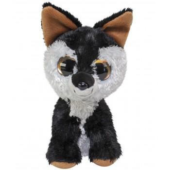 Мягкая игрушка Lumo Stars Волк Hukka классическая (15 см) 54987