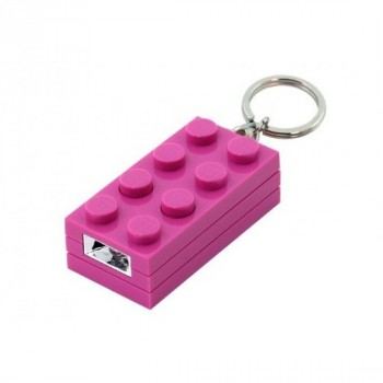 LEGO Фонарик-брелок 2Х4 для девочек (LGL-KE5G)