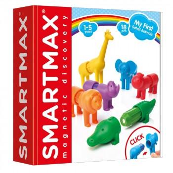 """Smartmax Магнитный конструктор """"Мои первые дикие животные"""" (SMX 220)"""