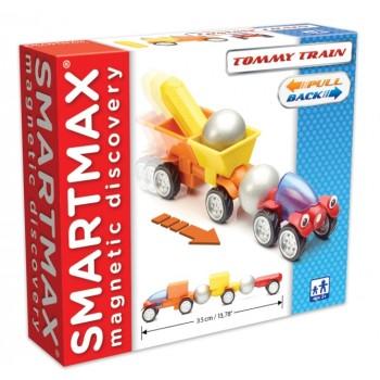 """Smartmax Магнитный конструктор """"Паровоз Томми"""" (SMX 209)"""