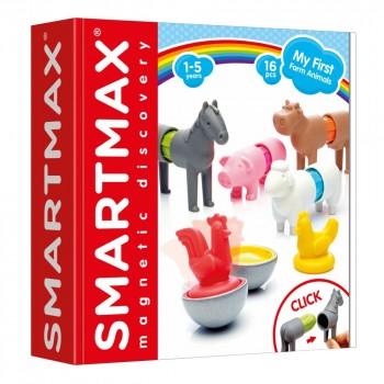 """Smartmax Магнитный конструктор """"Мои первые домашние животные"""" (SMX 221)"""